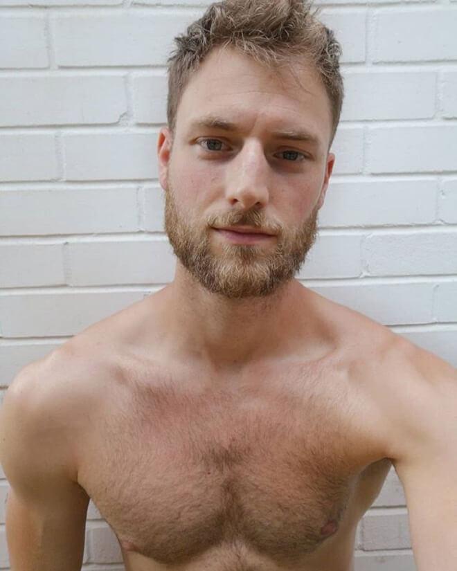 Scruffy Stubble Beard Style