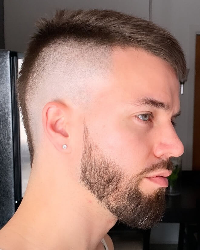 Short Faux Hawk