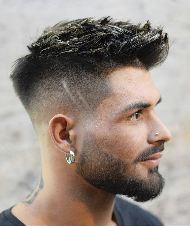 Short Hair with Low Skin Fade