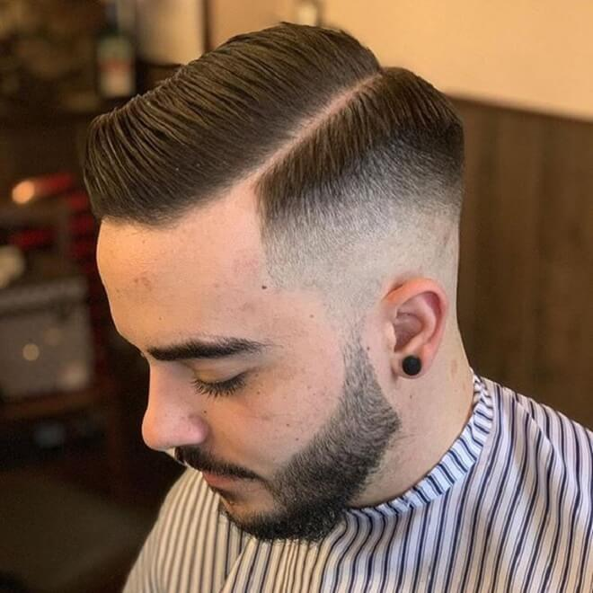 Side Part with Comb Over