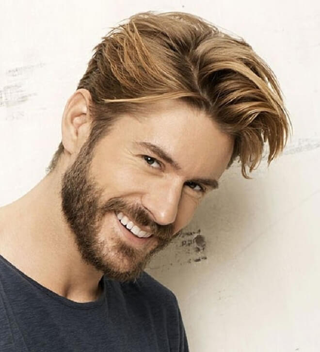 Side Swept Medium Length Hairstyles