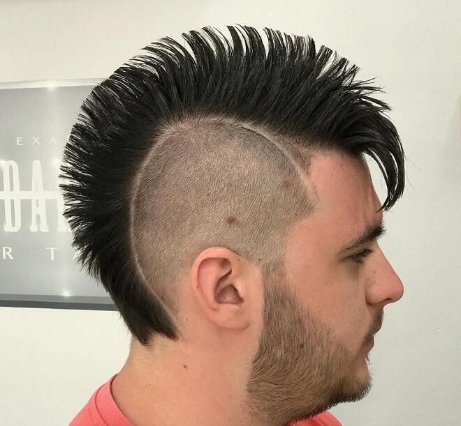 Skin Fade Punk Hairstyle