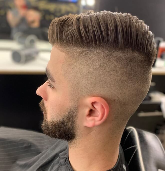 Skin Fade with Short Haircut