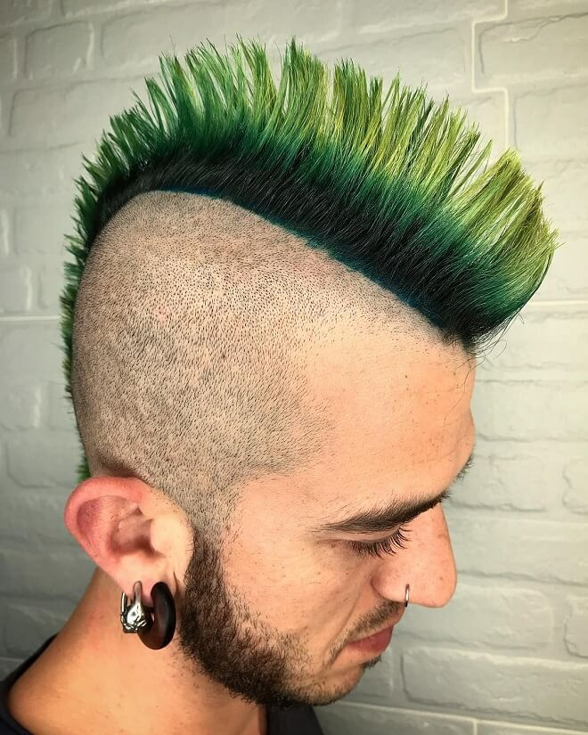 Spikes Mohawk Hairstyle