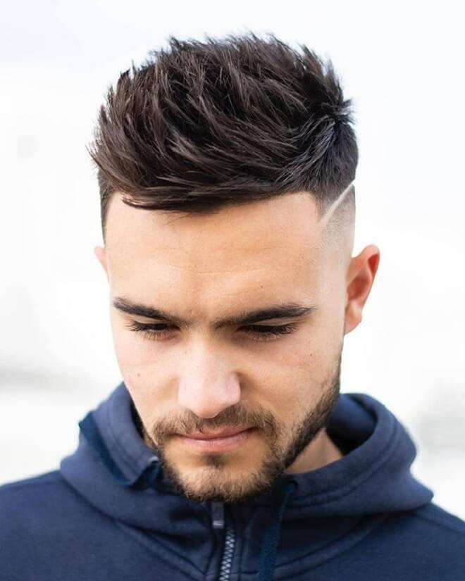 Spiky Faux Hawk Haircut