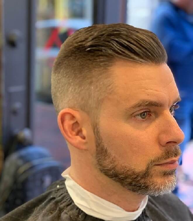 Taper with Beard Style