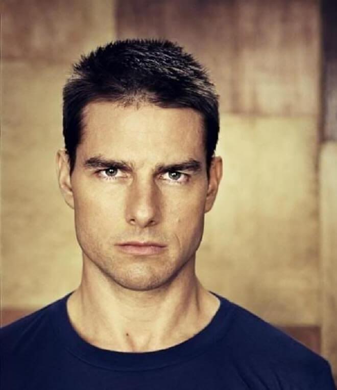 Tom Cruise Army Haircut