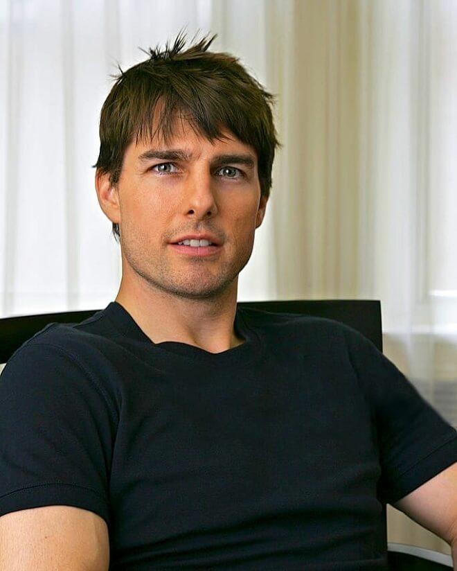 Tom Cruise Front Bangs