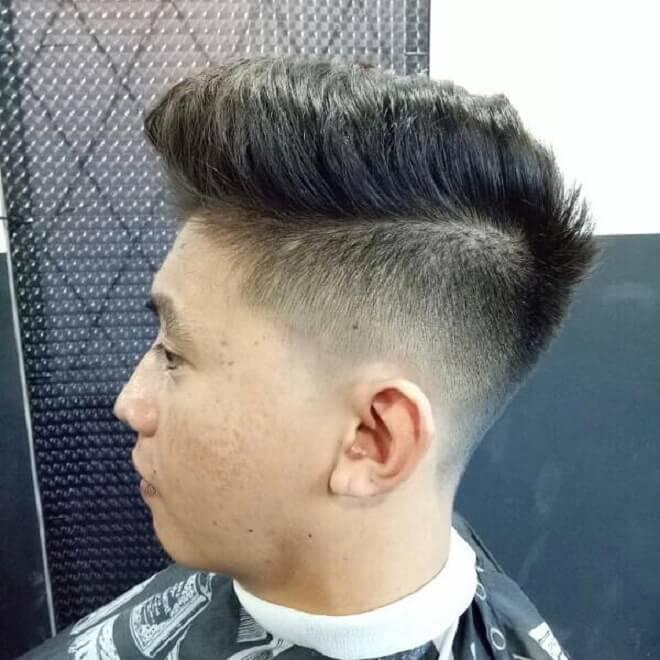 Undercut Quiff Hairstyle