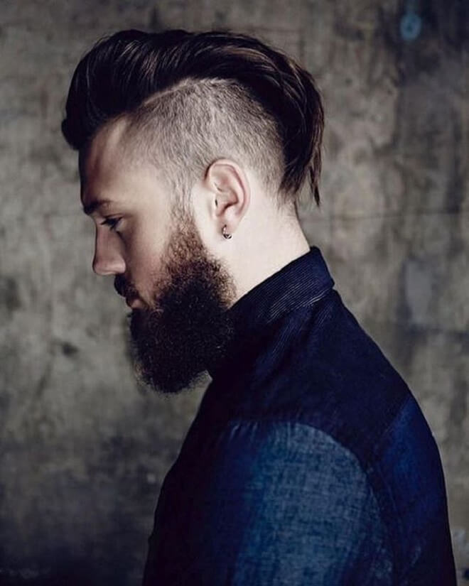 Undercut with Silk Back