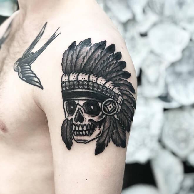 Upper Arm Tattoo