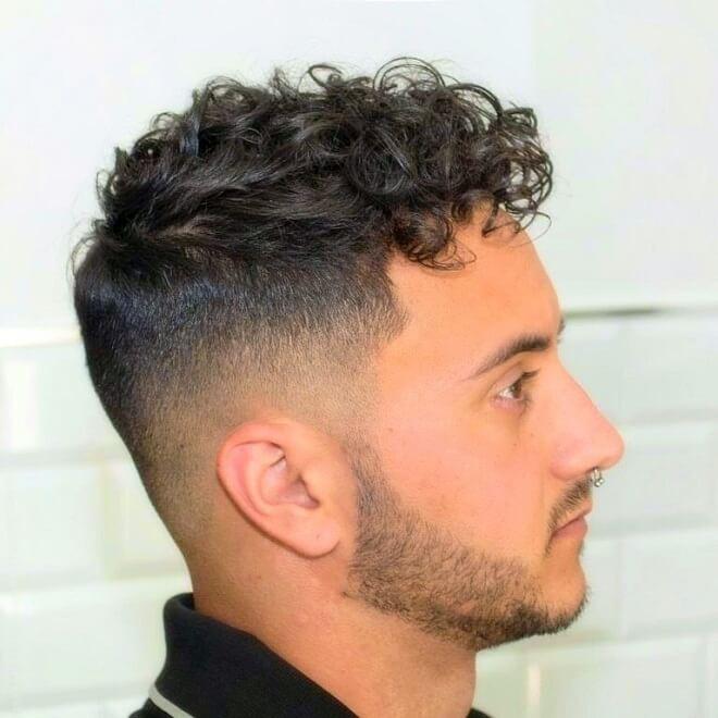 Angular Short Curls