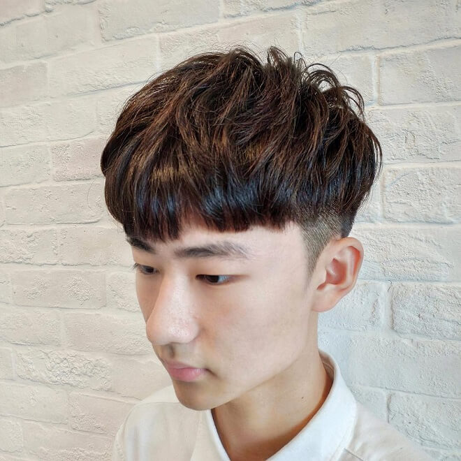 Asian Men Haircut