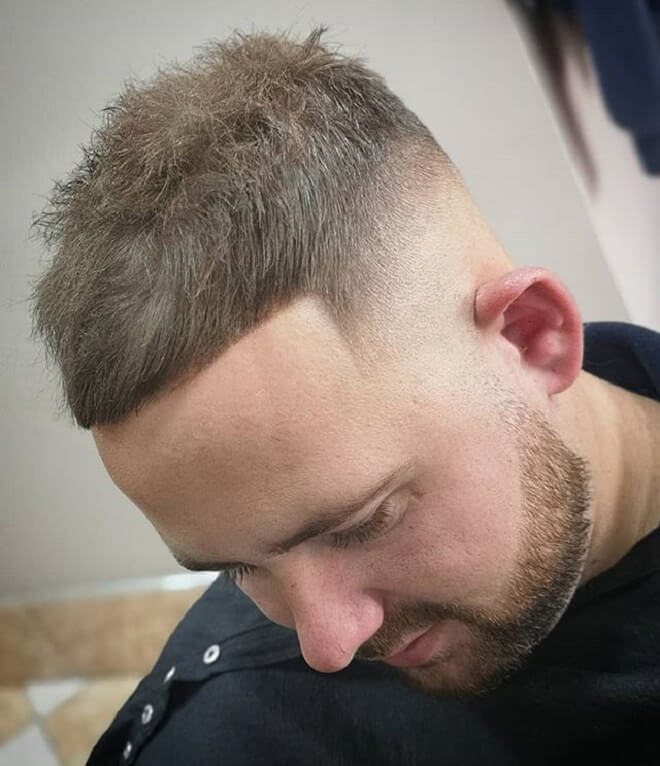 Top 30 Cool Men S Short Back And Sides Hairstyles Short Back And