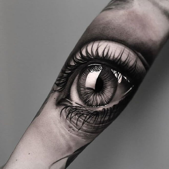 Big Eye Tattoo