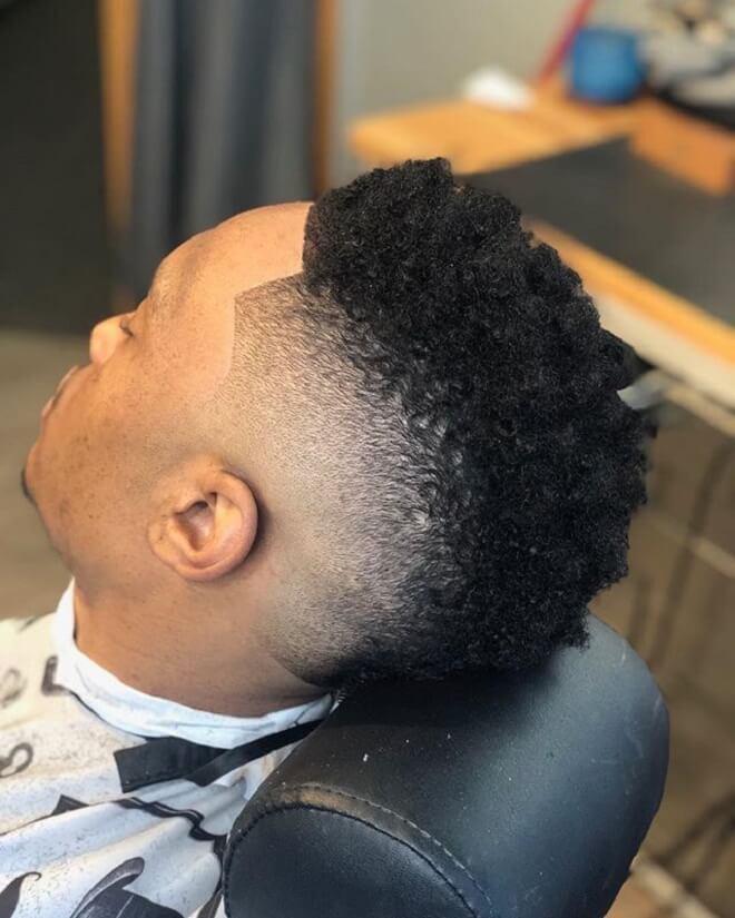 Black Men Fade Haircut