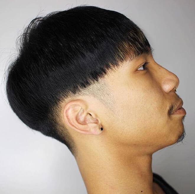 Bowl Haircut for Straight Hair