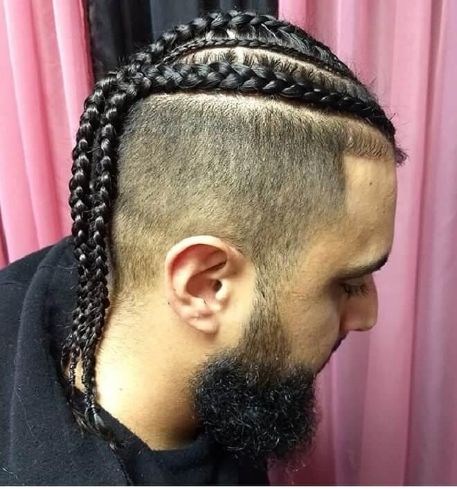Braid Style for White Men