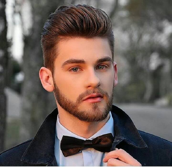 Top 30 Best Brush Up Hairstyles for Men | Cool Brush Up Hair