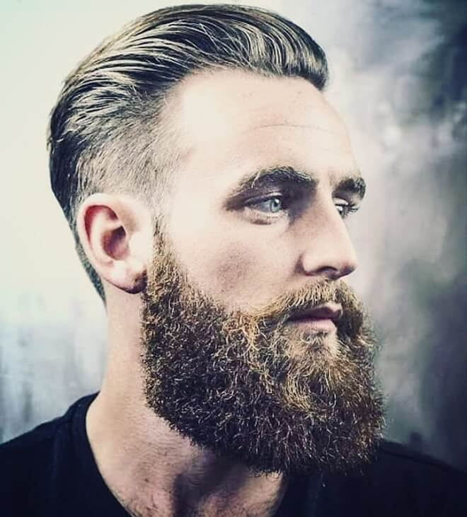 Bushy Beard Style