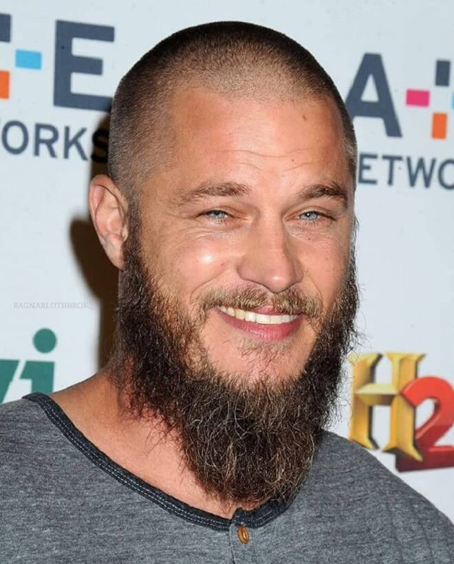 Buzz Cut with Long Beard