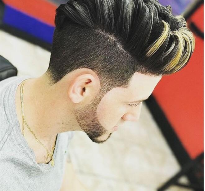 Classic Quiff Hairstyle