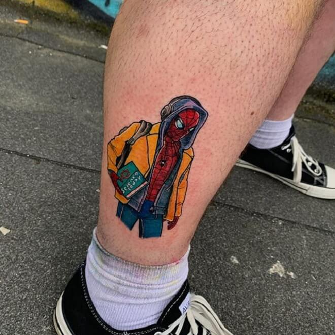 Cool Leg Tattoo