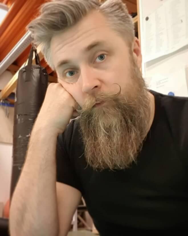 Cool Long Beard Design