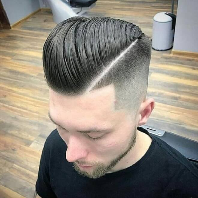 Disconnected Undercut with Brush Back