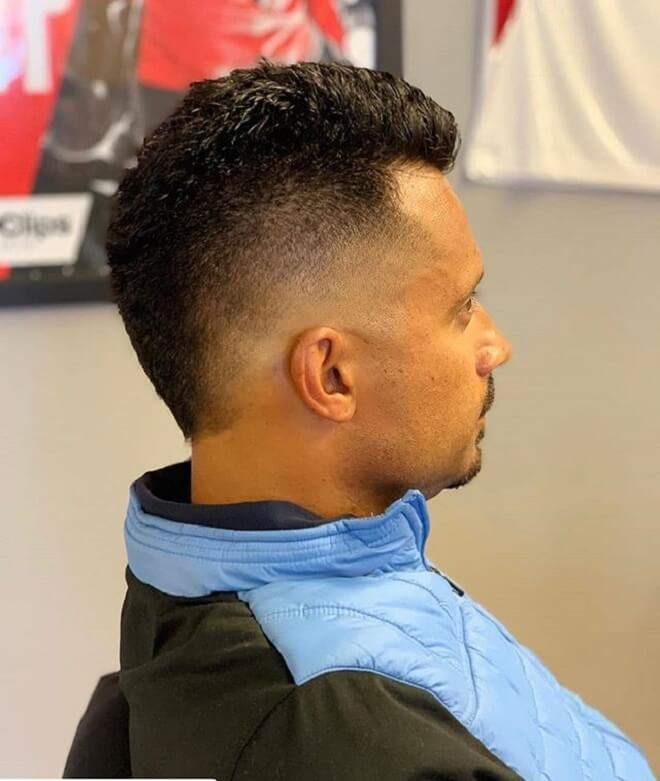 Faux Hawk with Skin Fade