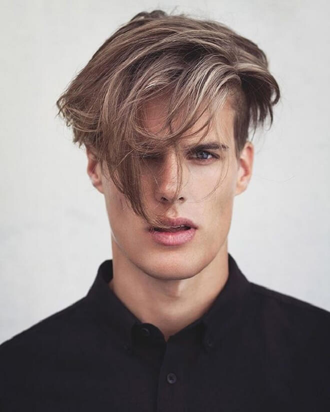 Flow Hairstyle with Undercut