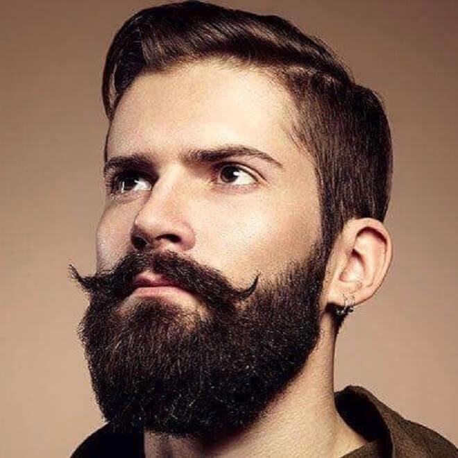 Full Beard with Mustache