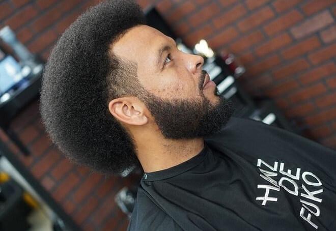 Full Stubble Beard