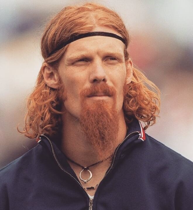 Ginger Goatee Beard Style