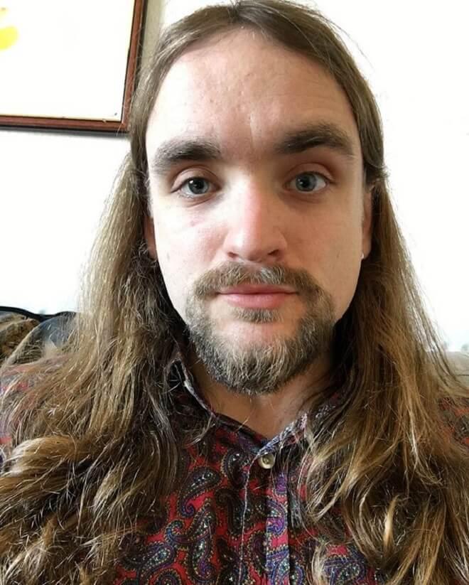 Goatee Beard with Long Hairstyle