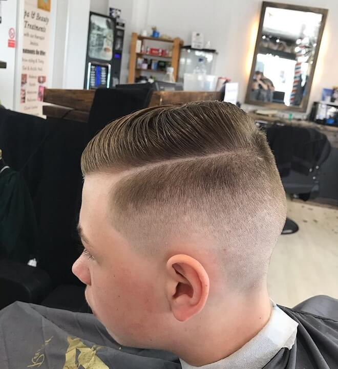 Hard Part with Short Comb Over