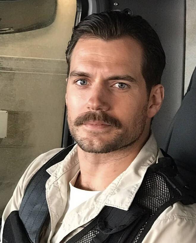 Henry Cavill Mustache Style