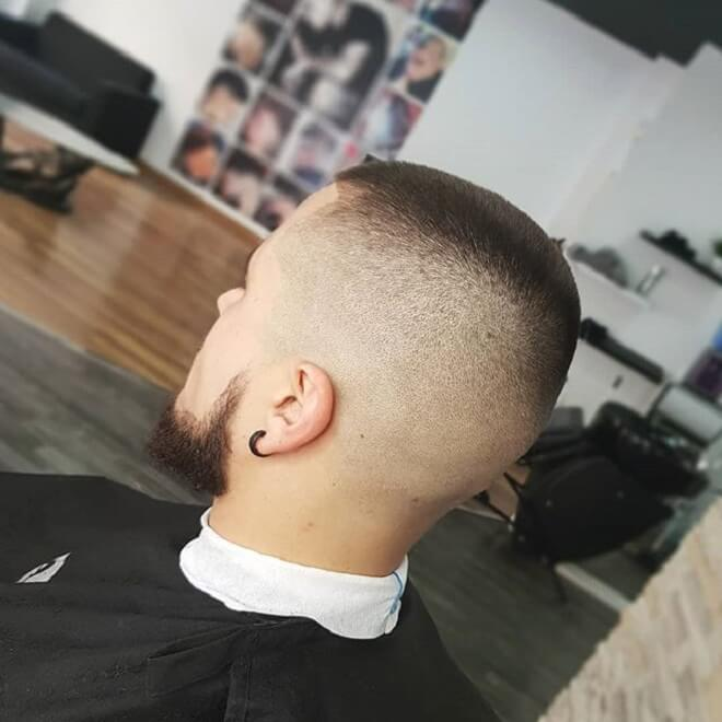 High Razor Fade Haircut