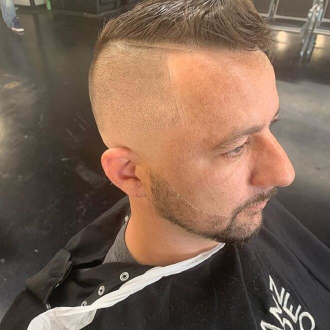 High Skin Fade with Short Messy
