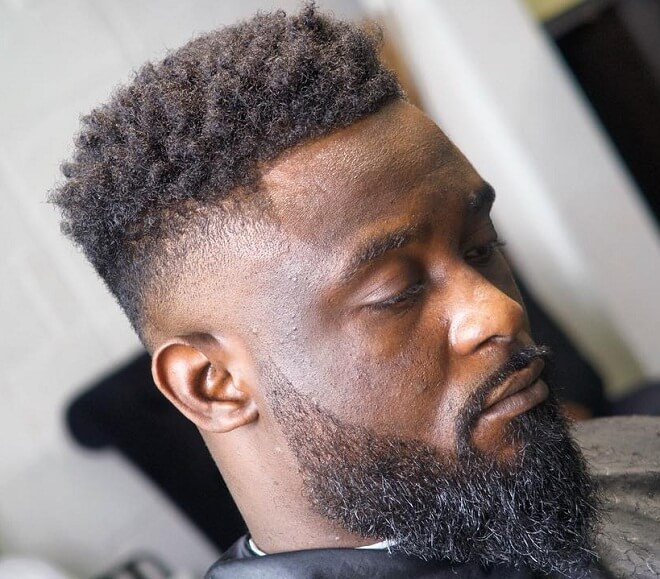 High Skin Fade with Twists