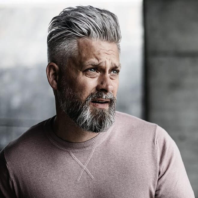 Top 30 Cool Hairstyles for Older Men | Older Men Haircut