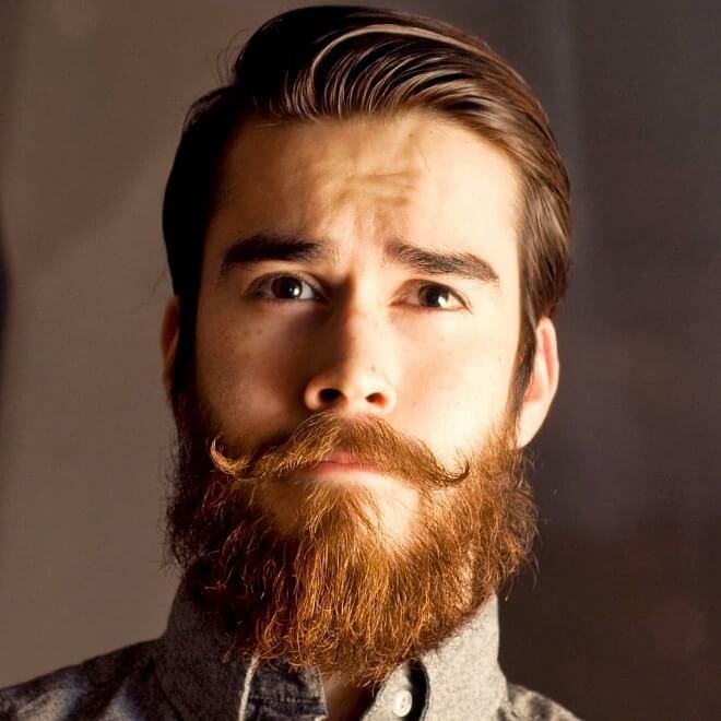 Hipster Handlebar Mustache Style