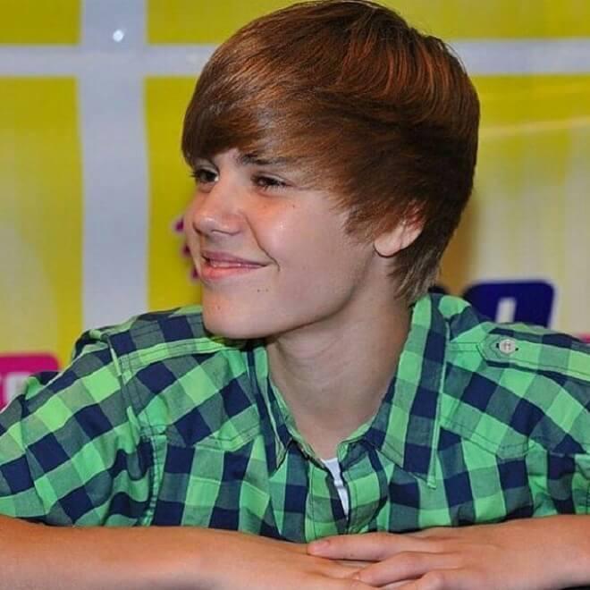 Justin Bieber Bowl Cut