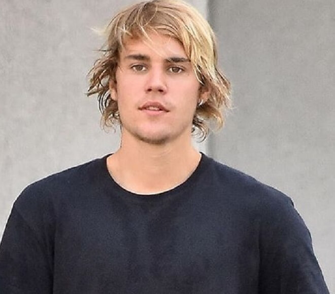Justin Bieber Medium Length Hair
