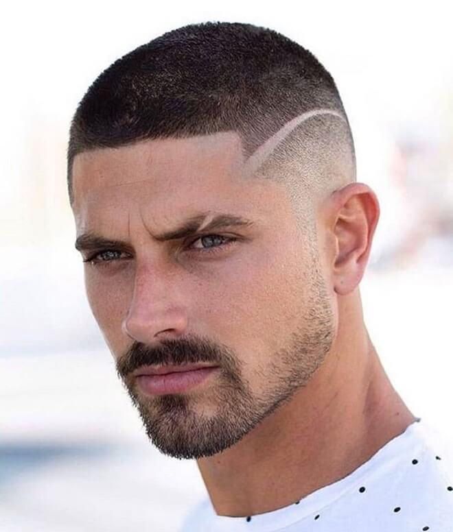 Line Design with Buzz Cut