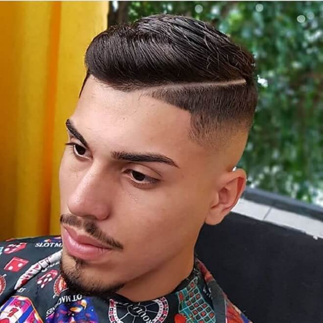 Line Part Haircut