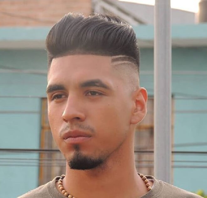 Line Up Haircut with Two Line Design