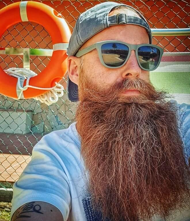 Long Bushy Beard
