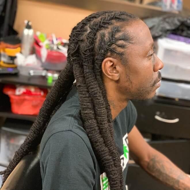 Long Dreadlocks Hairstyle
