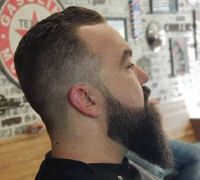 Long Ducktail Beard